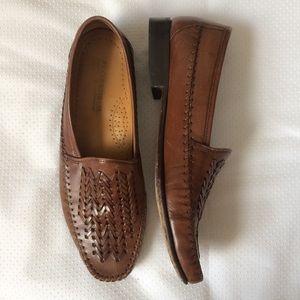 Florsheim Cecil Leather Shoes Cognac size 9.5 D